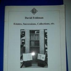 Sellos: CATALOGO FILATELIA DAVID FELDMAN. Lote 205750656