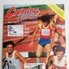 Sellos: REVISTA CRÓNICA FILATÉLICA N 59,1989 V COPA DEL MUNDO.. Lote 207013472