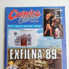 Sellos: REVISTA CRÓNICA FILATÉLICA N 56,1989 EXFILNA 89. Lote 207014805
