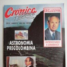 Sellos: REVISTA CRÓNICA FILATÉLICA N 55 DE 1989. Lote 207031472