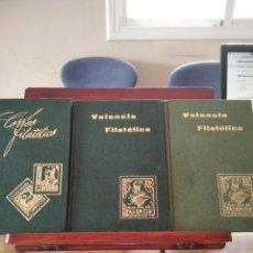 Sellos: VALENCIA Y CORREO FILATELICO-LOTE 3 TOMOS-DEL 1966 AL 1971-AÑOS COMPLETOS-MUY BUEN ESTADO. Lote 207063957