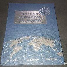 Sellos: LIBRO , SELLOS AUTENTICOS DEL MUNDO , EL GRAN TESORO DE LA FILATELIA COMPLETO . LEER DESCRIPCION. Lote 207150166