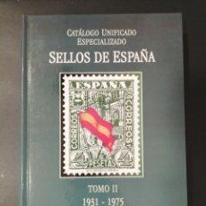 Francobolli: CATALOGO ESPECIALIZADO ESPAÑA 2005 TOMO II. Lote 254458285