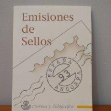 Timbres: SELLOS: ESPAÑA Y ANDORRA '93. Lote 208136081