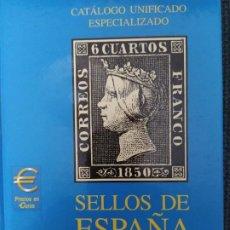 Timbres: CATÁLOGO EDIFIL ESPECIALIZADO 1850-1949, TOMO 1, 2002. Lote 209849625