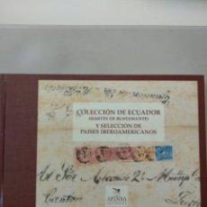 Sellos: COLECCIÓN DE ECUADOR - MARTIN BUSTAMANTE- Y SELECCIÓN DE PAÍSES IBEROAMERICANOS. Lote 211426047