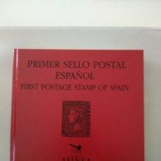 Sellos: PRIMER SELLO POSTAL ESPAÑOL, CATÁLOGO SUBASTA FILATELIA. Lote 211426846