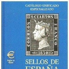 Sellos: CATÁLOGO ESPECIALIZADO EDIFIL 2002 TOMO I (1850-1949, 1º CENTENARIO). Lote 211831488