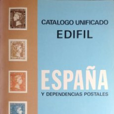 Sellos: CATÁLOGO UNIFICADO DE ESPAÑA Y DEPENDENCIAS POSTALES, 1973. MADRID ; BARCELONA : EDIFIL, 1972.. Lote 212838333