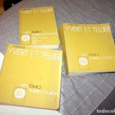 Selos: CATÁLOGO SELLOS IVERT ET TELLIER 1973. FRANCIA, EUROPA Y ULTRA MAR. DE COLECCIONISTA. MUY COMPLETO. Lote 215211070
