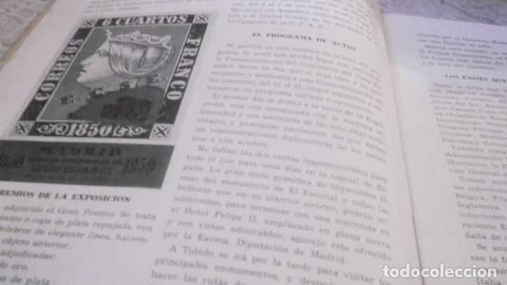 Sellos: REVISTA DE LA EXPOSICION CONMEMORATIVA DEL CENTENARIO DEL SELLO ESPAÑOL- Nº 2 - MADRID 1950 - Foto 2 - 215512475