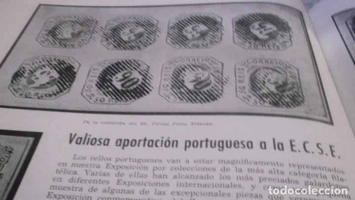 Sellos: REVISTA DE LA EXPOSICION CONMEMORATIVA DEL CENTENARIO DEL SELLO ESPAÑOL- Nº 2 - MADRID 1950 - Foto 10 - 215512475