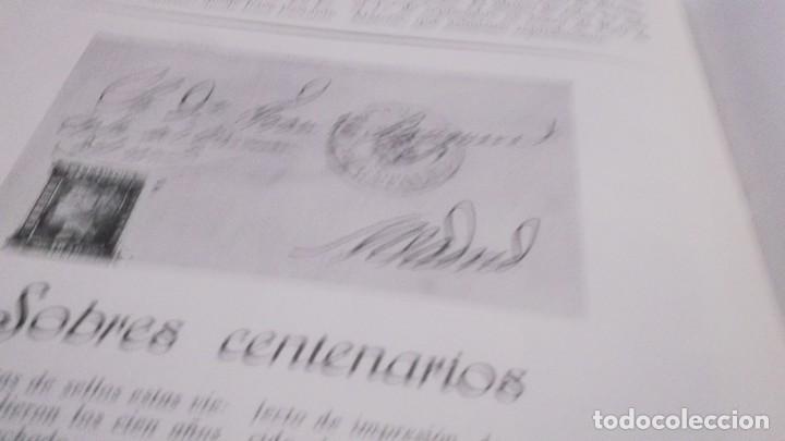 Sellos: REVISTA DE LA EXPOSICION CONMEMORATIVA DEL CENTENARIO DEL SELLO ESPAÑOL- Nº 2 - MADRID 1950 - Foto 13 - 215512475