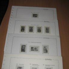 Sellos: SUPLEMENTOS DE EDIFIL ESPAÑA 1962,66,76 Y 90 CON ESTUCHES TRANSPARENTES. Lote 218170602