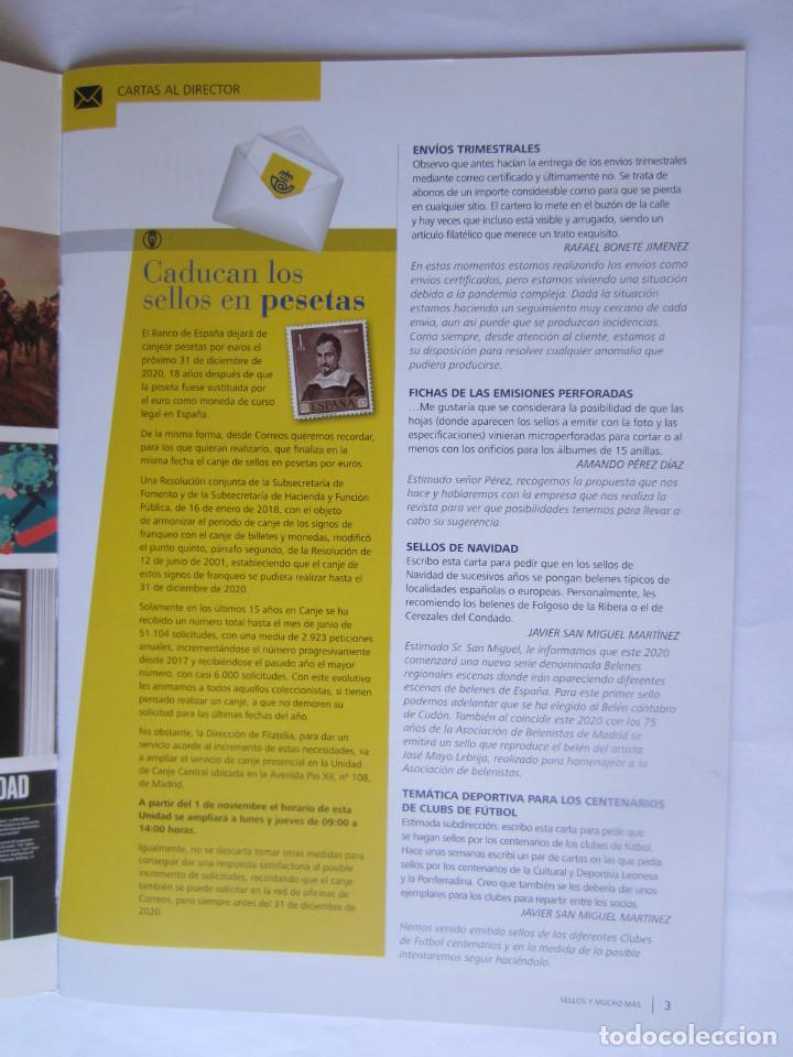 Sellos: BOLETIN DEL SERVICIO FILATELICO DE CORREOS. SELLOS Y MUCHO MAS. Nº 61. 32 PAGINAS SEPTIEMBRE 2020 - Foto 2 - 218503880