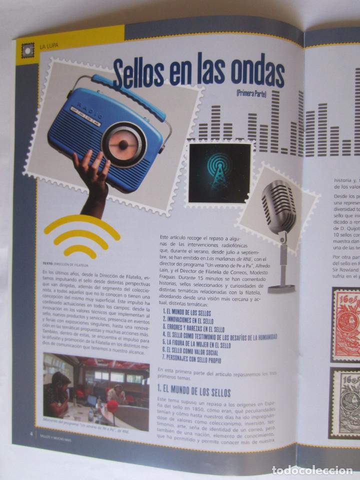 Sellos: BOLETIN DEL SERVICIO FILATELICO DE CORREOS. SELLOS Y MUCHO MAS. Nº 61. 32 PAGINAS SEPTIEMBRE 2020 - Foto 3 - 218503880