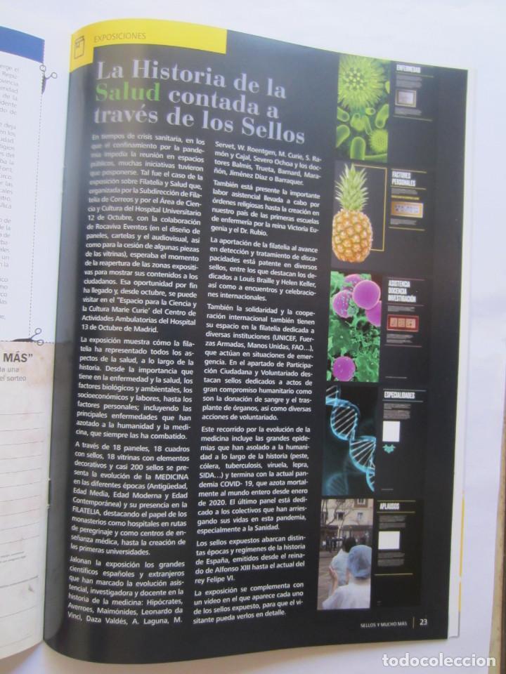 Sellos: BOLETIN DEL SERVICIO FILATELICO DE CORREOS. SELLOS Y MUCHO MAS. Nº 61. 32 PAGINAS SEPTIEMBRE 2020 - Foto 4 - 218503880