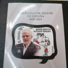 Sellos: ¡NOVEDAD! CATÁLOGO DE SELLOS DE ESPAÑA FILABO 1850-2021 - EDICION 35. Lote 218970427