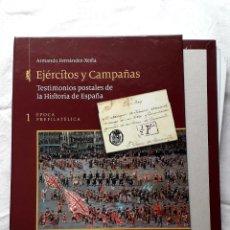 Sellos: ARMANDO FERNÁNDEZ-XESTA EJÉRCITOS Y CAMPAÑAS 1 ÉPOCA PREFILATÉLICA EDIFIL. Lote 219180660