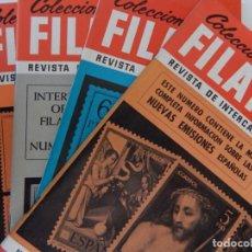 Sellos: 5 REVISTAS / COLECCIONISMO FILATÉLICO REVISTA DE INTERCAMBIOS Y FILATELIA - AÑOS 1970 (4) Y 1971. Lote 219253066
