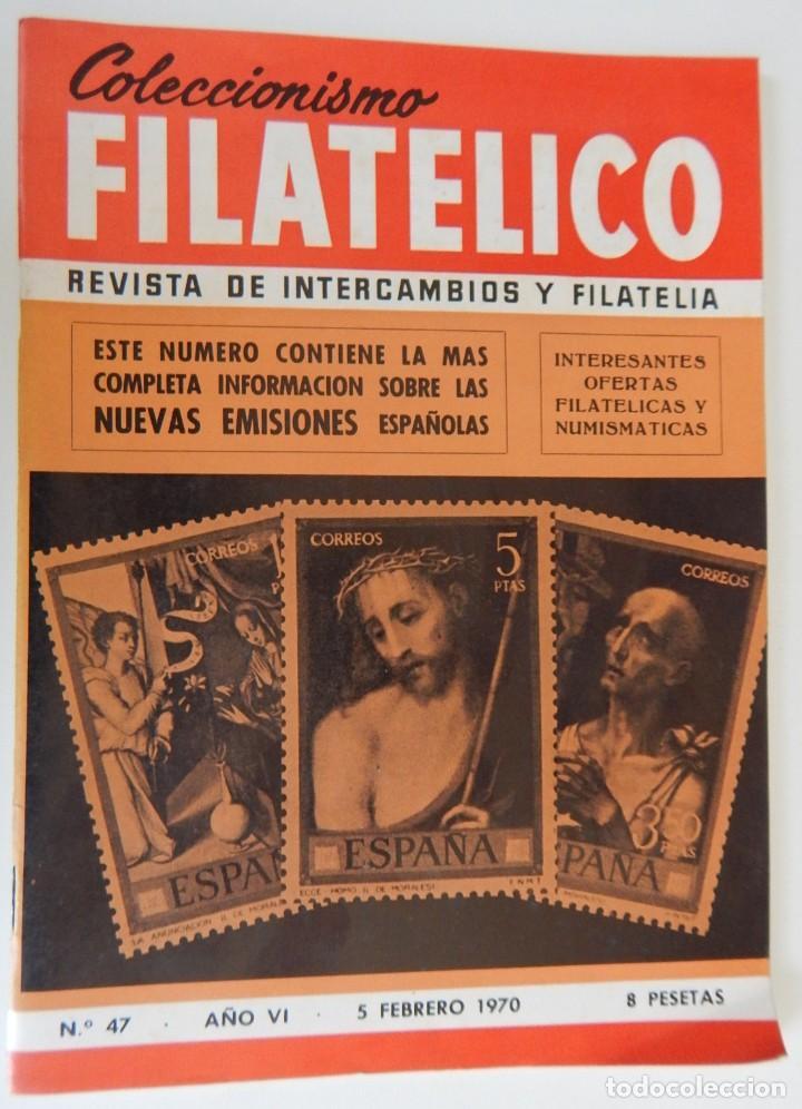 Sellos: 5 Revistas / Coleccionismo Filatélico Revista de intercambios y filatelia - Años 1970 (4) y 1971 - Foto 2 - 219253066