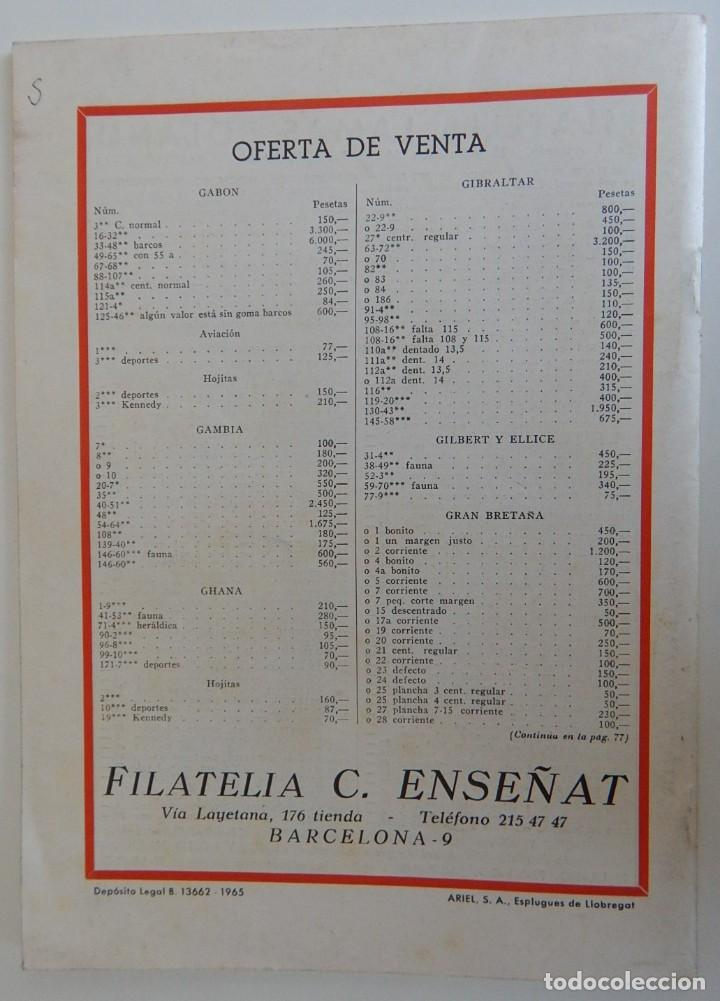 Sellos: 5 Revistas / Coleccionismo Filatélico Revista de intercambios y filatelia - Años 1970 (4) y 1971 - Foto 3 - 219253066