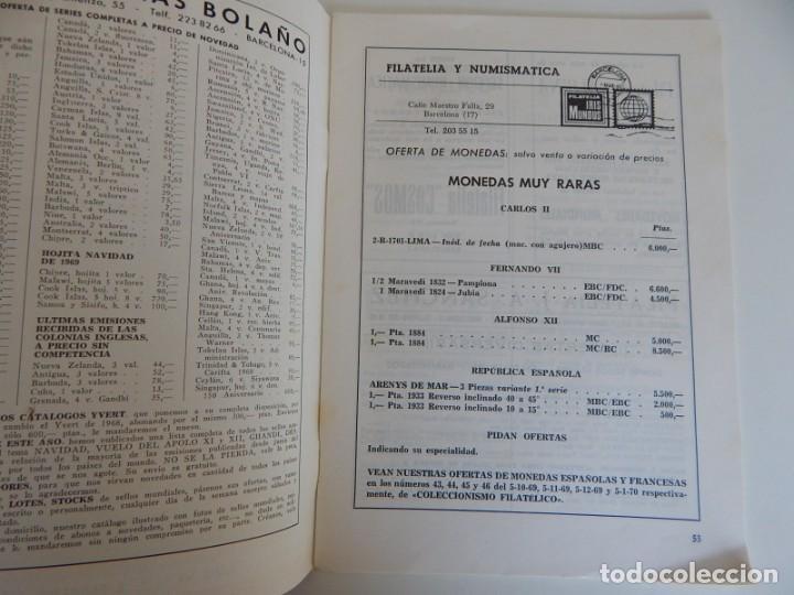 Sellos: 5 Revistas / Coleccionismo Filatélico Revista de intercambios y filatelia - Años 1970 (4) y 1971 - Foto 4 - 219253066