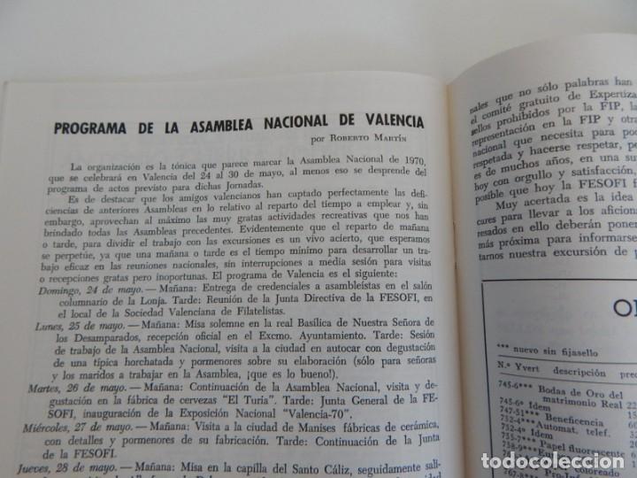 Sellos: 5 Revistas / Coleccionismo Filatélico Revista de intercambios y filatelia - Años 1970 (4) y 1971 - Foto 7 - 219253066