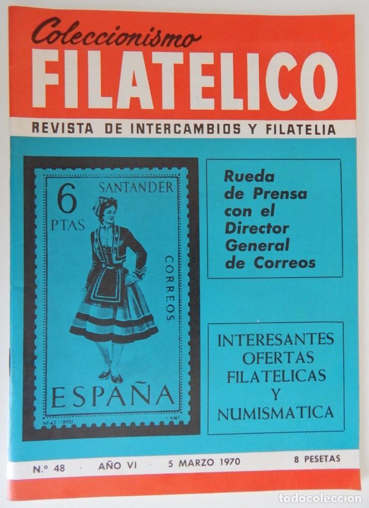 Sellos: 5 Revistas / Coleccionismo Filatélico Revista de intercambios y filatelia - Años 1970 (4) y 1971 - Foto 8 - 219253066