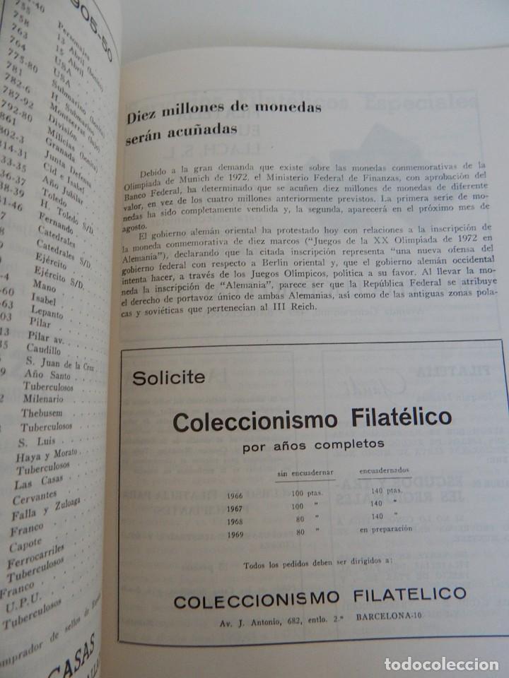 Sellos: 5 Revistas / Coleccionismo Filatélico Revista de intercambios y filatelia - Años 1970 (4) y 1971 - Foto 12 - 219253066