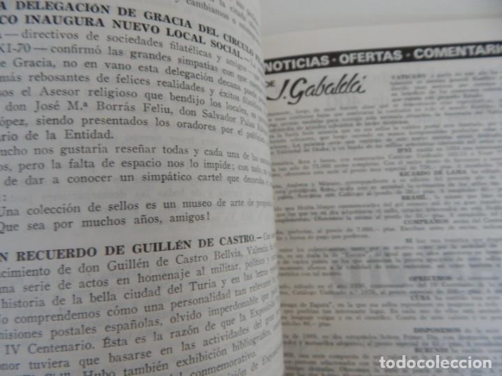 Sellos: 5 Revistas / Coleccionismo Filatélico Revista de intercambios y filatelia - Años 1970 (4) y 1971 - Foto 13 - 219253066