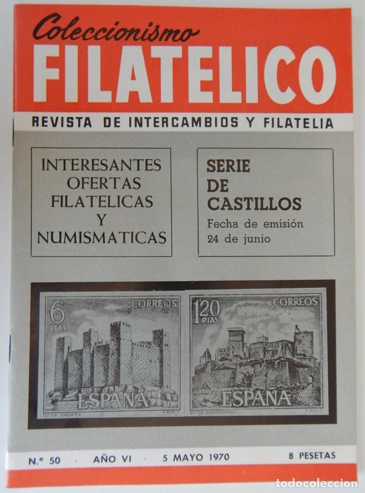 Sellos: 5 Revistas / Coleccionismo Filatélico Revista de intercambios y filatelia - Años 1970 (4) y 1971 - Foto 15 - 219253066