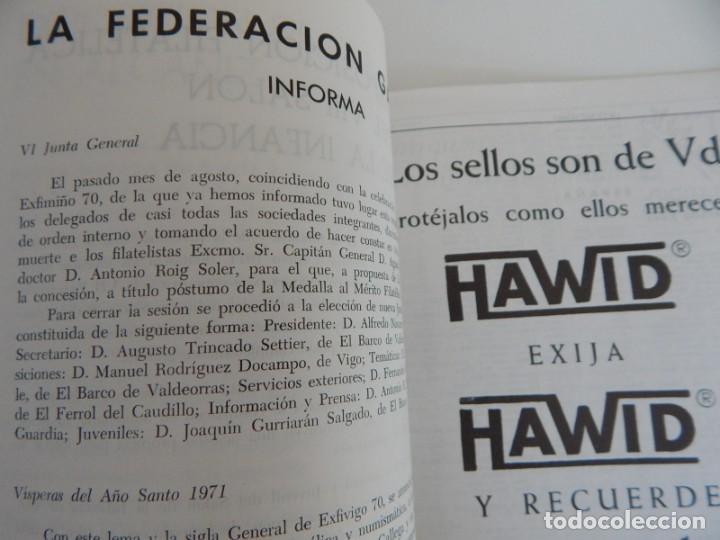 Sellos: 5 Revistas / Coleccionismo Filatélico Revista de intercambios y filatelia - Años 1970 (4) y 1971 - Foto 26 - 219253066