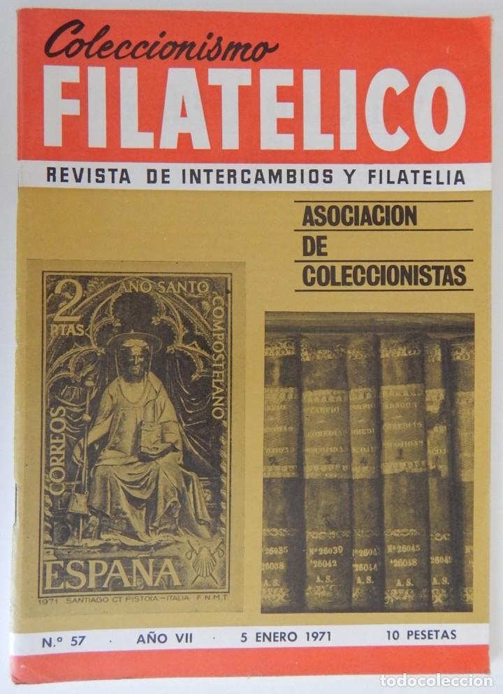 Sellos: 5 Revistas / Coleccionismo Filatélico Revista de intercambios y filatelia - Años 1970 (4) y 1971 - Foto 28 - 219253066