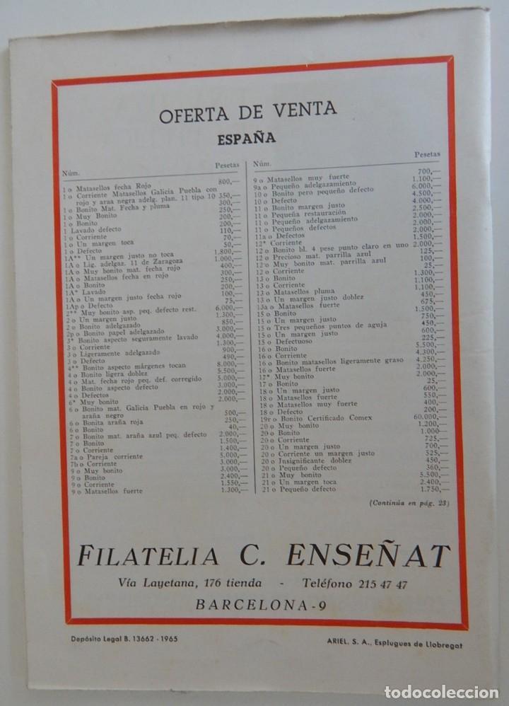 Sellos: 5 Revistas / Coleccionismo Filatélico Revista de intercambios y filatelia - Años 1970 (4) y 1971 - Foto 29 - 219253066