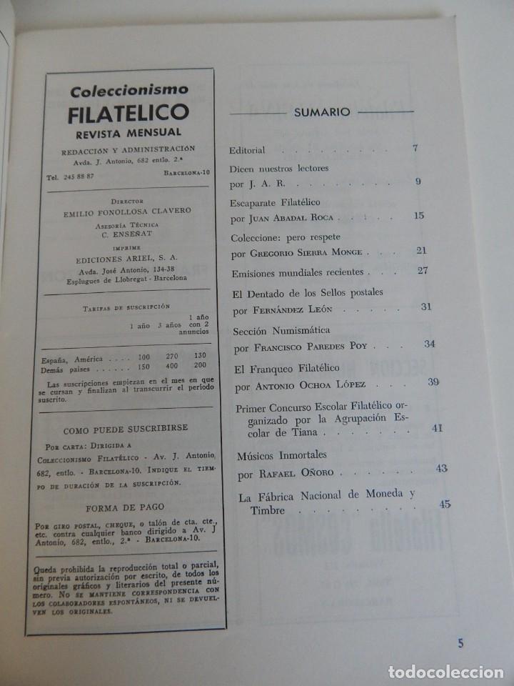 Sellos: 5 Revistas / Coleccionismo Filatélico Revista de intercambios y filatelia - Años 1970 (4) y 1971 - Foto 32 - 219253066