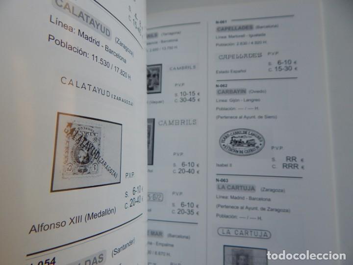 Sellos: Arturo Navarro - Marcas lineales de estación utilizadas como matasellos - Foto 5 - 219264141