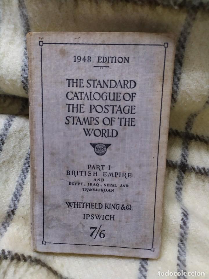 1948. CATÁLOGO DE SELLOS POSTALES DEL MUNDO. IMPERIO BRITÁNICO, EGIPTO, IRAQ, NEPAL Y TRANSJORDANIA. (Filatelia - Sellos - Catálogos y Libros)