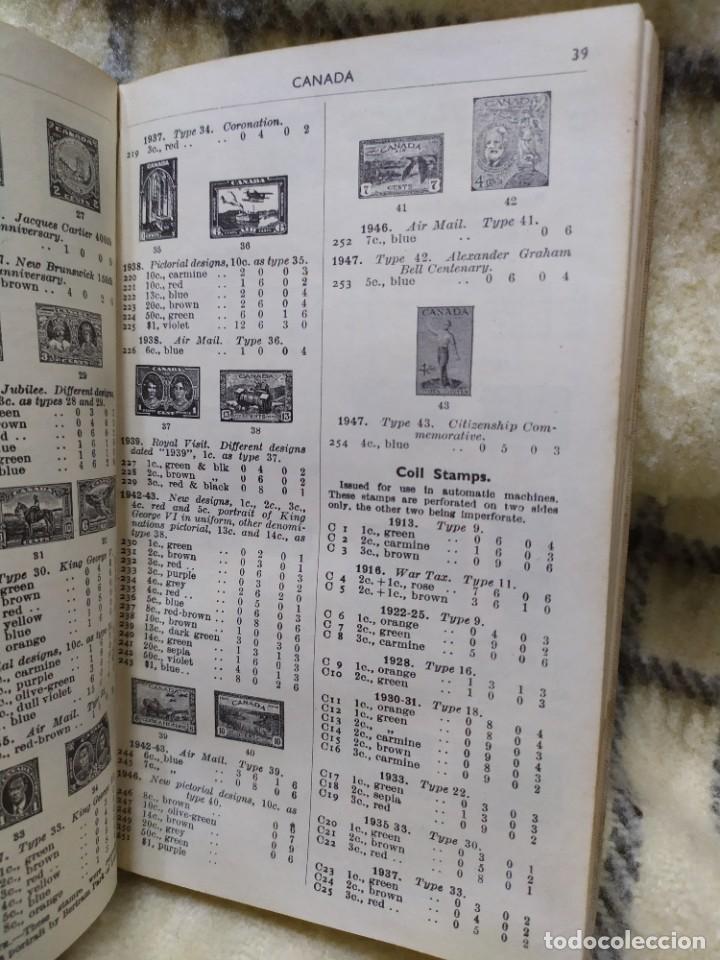 Sellos: 1948. Catálogo de sellos postales del mundo. Imperio Británico, Egipto, Iraq, Nepal y Transjordania. - Foto 8 - 219344470