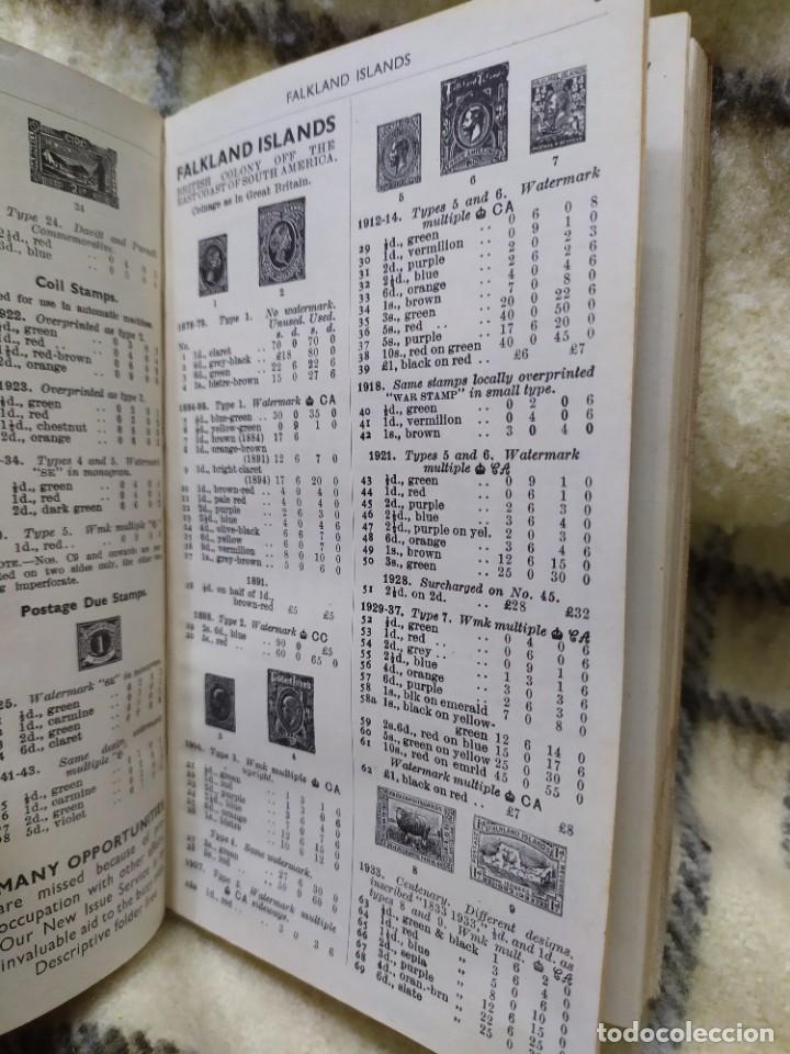 Sellos: 1948. Catálogo de sellos postales del mundo. Imperio Británico, Egipto, Iraq, Nepal y Transjordania. - Foto 9 - 219344470