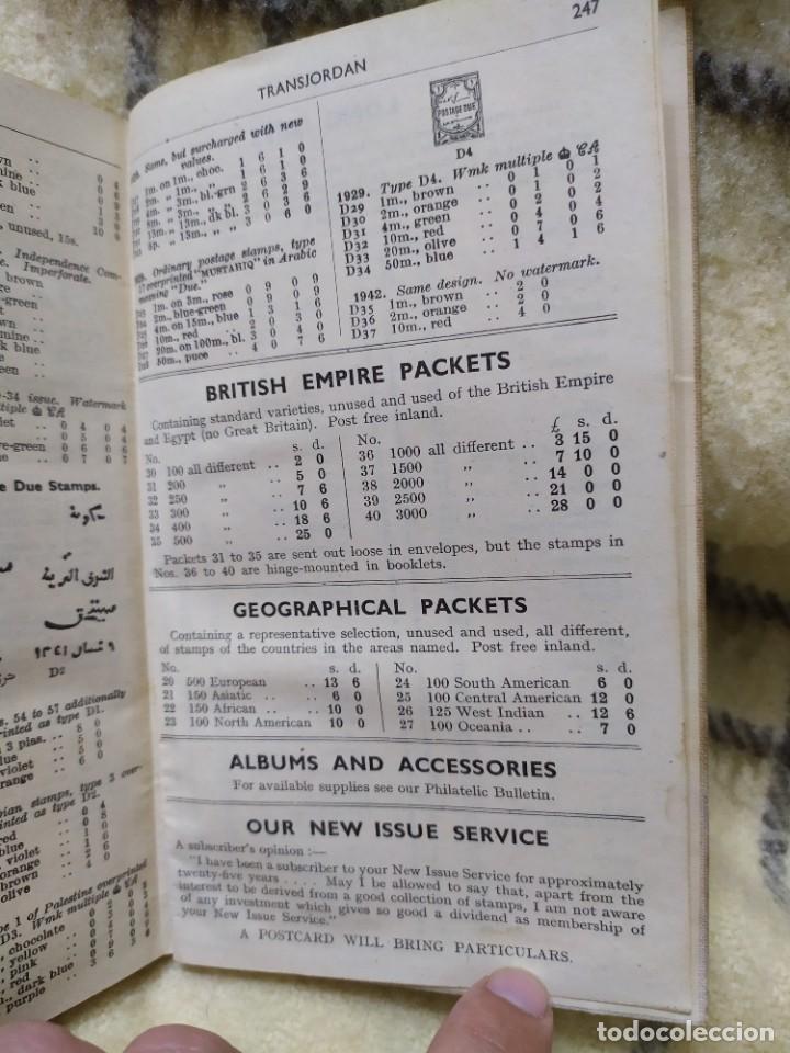 Sellos: 1948. Catálogo de sellos postales del mundo. Imperio Británico, Egipto, Iraq, Nepal y Transjordania. - Foto 16 - 219344470