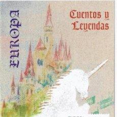 Sellos: FOLLETO DIPTICO CORREOS EUROPA CUENTOS Y LEYENDAS.5-5-97.INFORMACIÓN 9/97. Lote 219495578