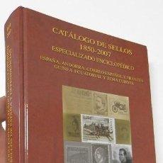 Francobolli: CATÁLOGO DE SELLOS 1850-2007. FILABO. Lote 219524206
