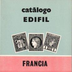 Timbres: FRANCIA-ANDORRA-MONACO ***CATALOGO EDIFIL 1976*** - USADO. Lote 219894471