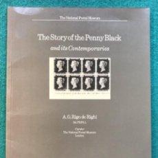 Francobolli: THE STORY OF THE PENNY BLACK. HISTORIA DEL PRIMER SELLO. FILATELIA. Lote 220790527