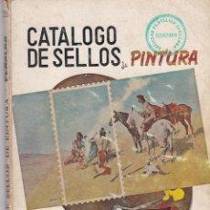 """Sellos: CATALOGO TEMATICO DE PINTURA ANTIGUO """"MUY INTERESANTE"""". Lote 220953098"""