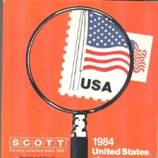 Sellos: SCOTT - USA - 1984 UNITED STATES STAMP CATALOGUE WIHT UNITED NATIONS. Lote 221722711