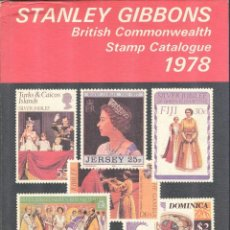 Sellos: STANLEY GIBBONS - 1977 - BRITISH COMMONWEALTH STAMP CATALOGUE - TAPA DURA. Lote 221723468