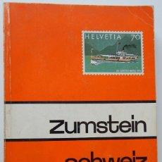 Sellos: ZUMSTEIN SCHWEIZ LIECHTENSTEIN 1984. Lote 221738366