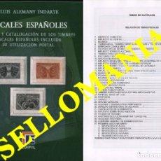 Sellos: CATALOGO EDIFIL ESPECIALIZADO FISCALES ESPAÑOLES EDIFIL LUIS ALEMANY TC23895. Lote 221952822